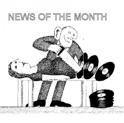 VINYL NEWS OF THE MONTH